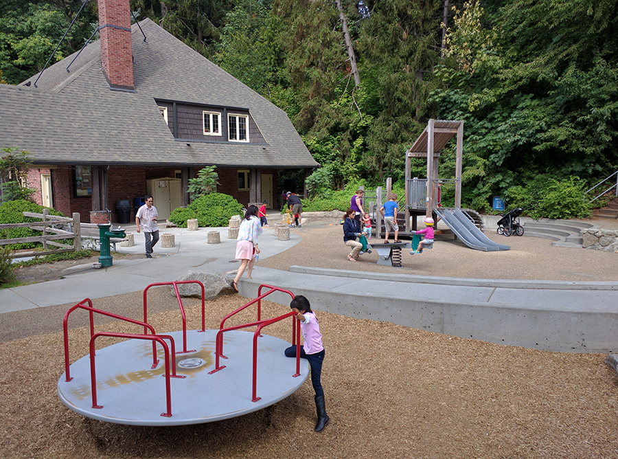 Seward Park Play Area Renovation (Seattle Parks Foundation)